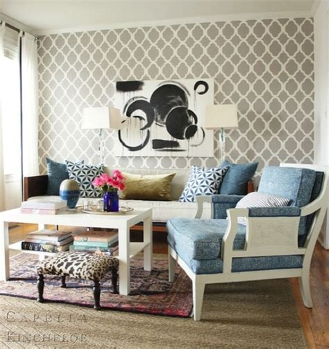 Trends In Wallpaper Accent Walls  Bossy Color Annie