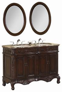 50 inch double bath vanity set with marble top 3 piece With 50 inch double sink bathroom vanity