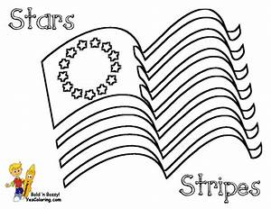Stars And Stripes Stencils Stand July 4th Coloring Pages July 4th Free