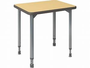 A  U0026 D Adjustable Height Student Desk 20 U0026quot  X 27 U0026quot   Student Desks