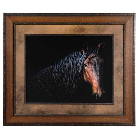 Horse Portrait Framed Art