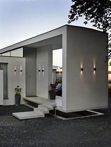les appliques exterieures lesquelles choisir pour With eclairage exterieur maison contemporaine