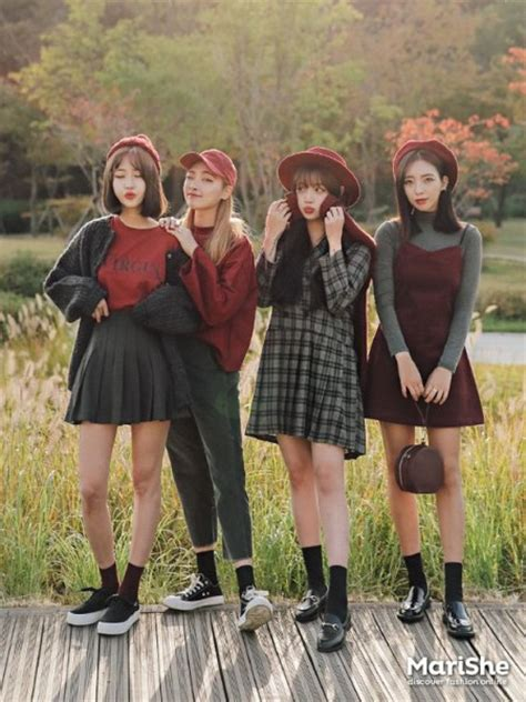 Friendship-goal Outfit Ideas based on Korean Style u00bb Celebrity Fashion Outfit Trends And Beauty ...