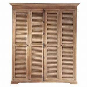 Penderie Maison Du Monde : armoire dressing en bois ou m tal maisons du monde ~ Teatrodelosmanantiales.com Idées de Décoration