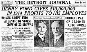 $5 a Day - How Henry Ford Kick-Started the American Middle ...