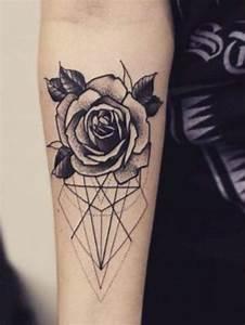 Tatouage De Rose : tatouage bras le tatouage de rose 80 id es de ~ Melissatoandfro.com Idées de Décoration