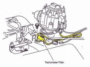 Corvette Tachometer Filter  Original Barrel Style  1975