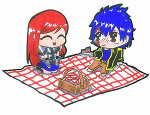 Erza and Jellal Chibis by Nickyparsonavenger on DeviantArt