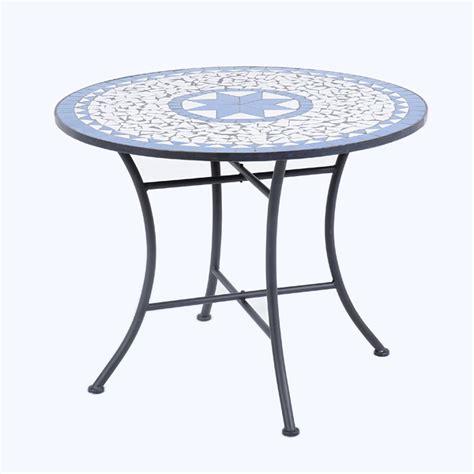 table el patio ellister palermo mosaic patio table 80cm on sale fast