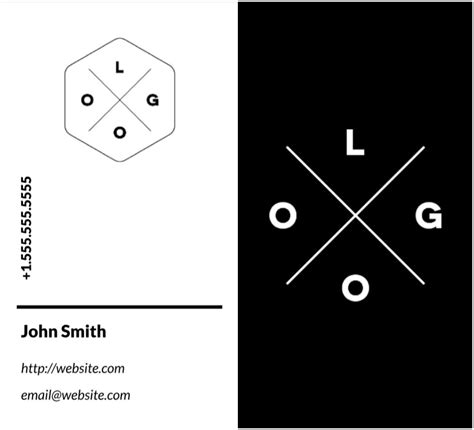 monochrome design business card template  images