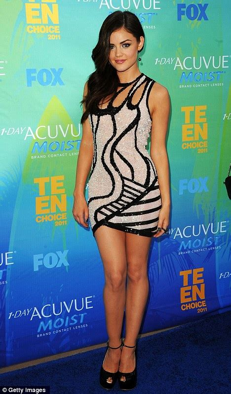 Teen Choice Awards: Lucy Hale makes a fashion statement ...