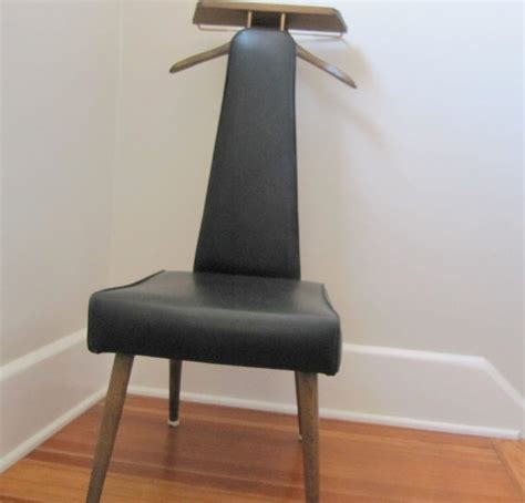 setwell men s valet chair mid century modern by