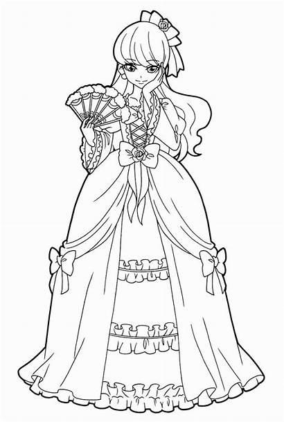 Mode Coloring Pages Precure Kirakira Pretty Anime