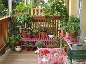 Jardin Et Balcon : 5 id es de jardin pour mini balcon elle d coration ~ Premium-room.com Idées de Décoration