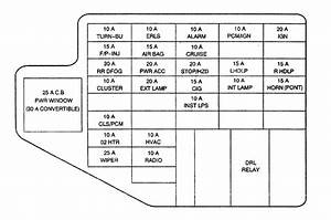 2003 Chevy Cavalier Fuse Diagram