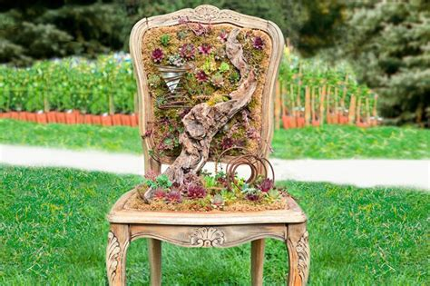 Creative Chairs From Odd Materials : Unusual Items To Use As Planters [slideshow]