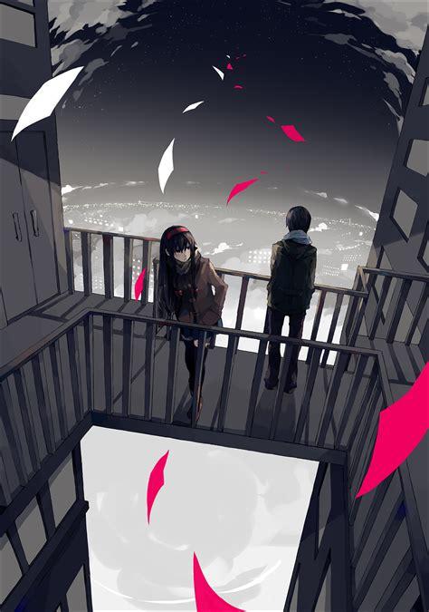 balcony zerochan anime image board