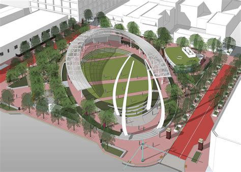 green plans canton revs plans for downtown green space news the