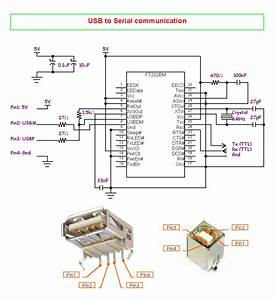 Usb To Serial Converter Home Made Without Microcontroller
