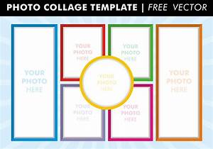 photo collage templates vector download free vector art With free online photo collage templates