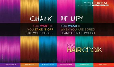 Loreal Introduces Hairchalk Color Polish