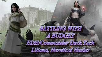 quot battling with a budget quot edh commander deck tech liliana