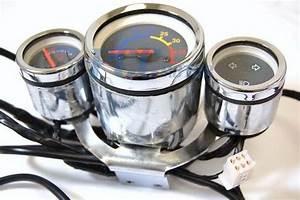 47cc 49cc Pocket Bike X8 R6 Speedometer Light Gas Gauge