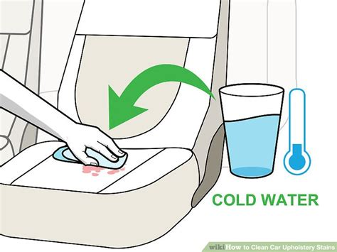 How To Clean Upholstery Stains by How To Clean Car Upholstery Stains 10 Steps With Pictures