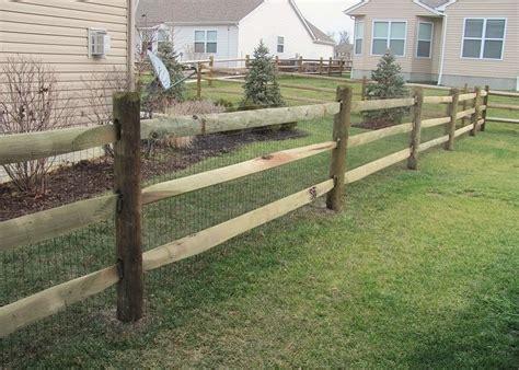 Eads Fence Co.. Wood Split Rail Fences