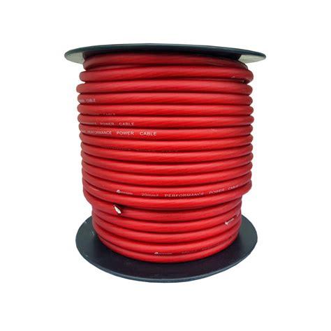 20 mm2 kabel 4connect czerwony kabel zasilający 20 mm2