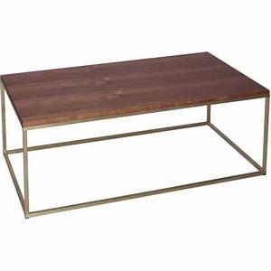 buy walnut and gold rectangular coffee table from fusion With gold rectangle coffee table