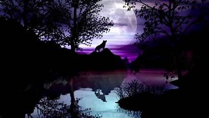 Wolf Moon Wallpapers Howling Background Backgrounds Plus