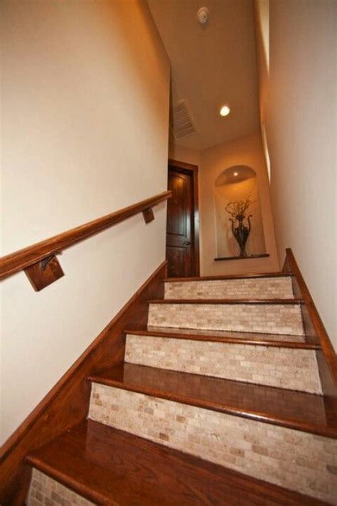 iike   put tile   front   stairs
