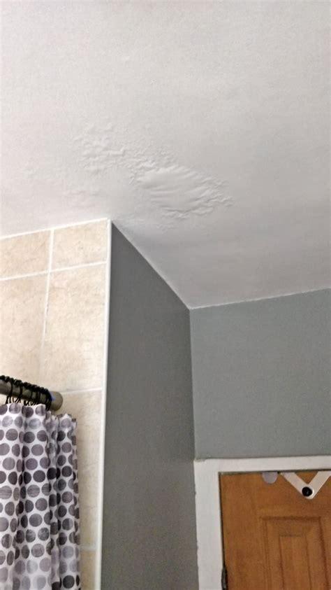 air bubbles   bathroom ceiling diynot forums