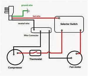 Compressor Ac Wiring Diagram