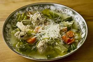 escarole soup with meatballs and chicken
