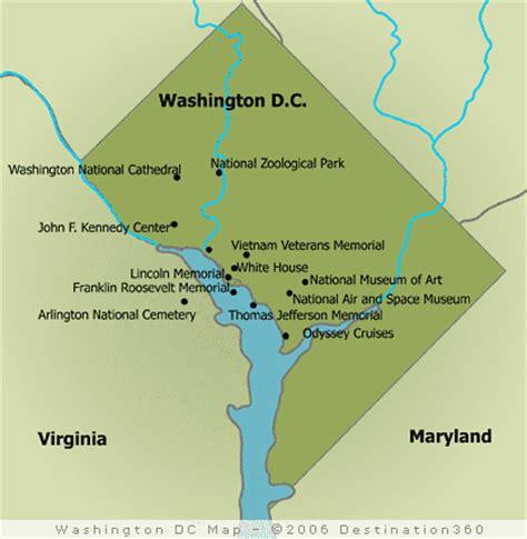 dc map washington monuments national maps memorial mall lincoln jefferson iii street patriot politics memorials destination360 did percent patriots