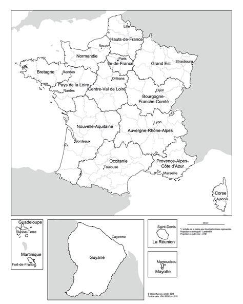 Au 1er janvier 2016, certaines des régions établies dans les années 60 fusionnent pour n'en laisser que 13. Une nouvelle carte des régions françaises — Géoconfluences