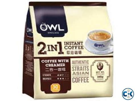 Otagiri owl creamer and sugar vintage coffee decor radioactiveblueberry. OWL 2 in 1 Instant Coffee With Creamer 30 Sticks | ClickBD