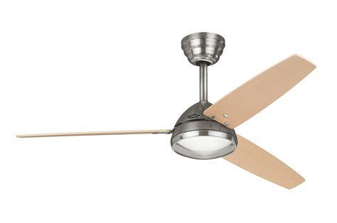 hunter metro ceiling fan  brushed nickel