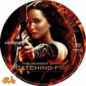 The Hunger Games Catching Fire - Custom DVD Labels - The ...