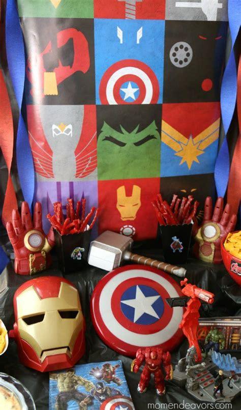 avengers party decor toys src  pinterest
