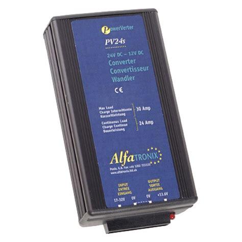converters diodes alfatronix pv24s 24vdc to 12vdc