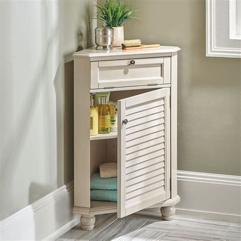 This small bathroom storage solution is perfect for