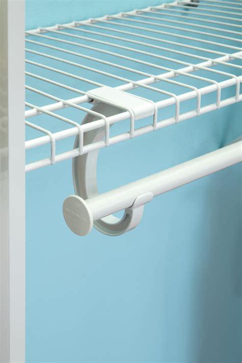 Closetmaid Rod Support - closetmaid 174 introduces superslide 174 metal closet rod