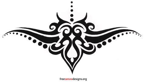 tattoos tramp stamp tribal tattoo designs