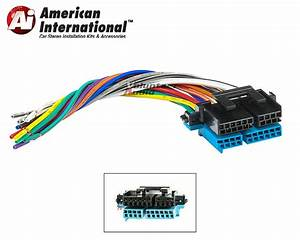 Plugs Into Factory Radio Car Stereo Wiring Harness Wire