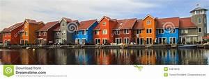 Häuser In Holland : bunte h user groningen die niederlande stockfoto bild 44973510 ~ Watch28wear.com Haus und Dekorationen