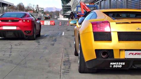 Lamborghini Gallardo Vs F430 by Lamborghini Gallardo Vs F430