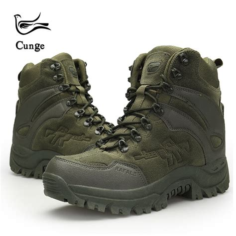 Men Desert Military Tactical Boots Army Outdoor Hiking